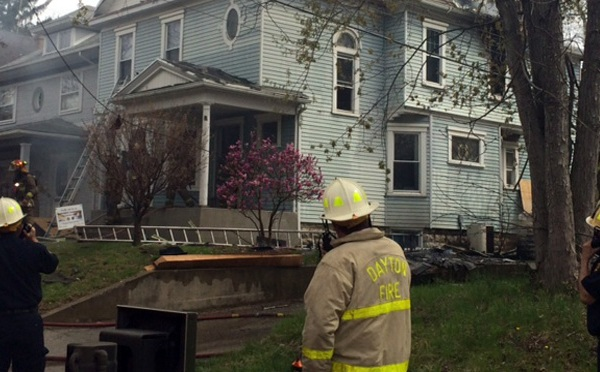 Fire on Grafton Ave. in Dayton causes power outage