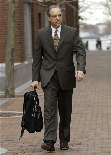 Federal prosecutor William Weinreb arrives at federal court in Boston Thursday, April 30, 2015, during the penalty phase in the trial of Dzhokhar Tsarnaev. Tsarnaev was convicted of the Boston Marathon bombings that killed three and injured 260...