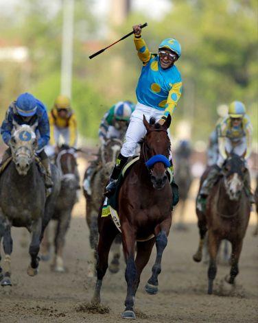 American Pharoah wins 141st Kentucky Derby_83172