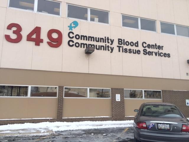 Community Blood Center in Dayton (WDTN PhotoMaytal Levi)_72357
