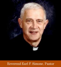 Fr. Earl Simone (Photo courtesy: saintpeterparish.org)