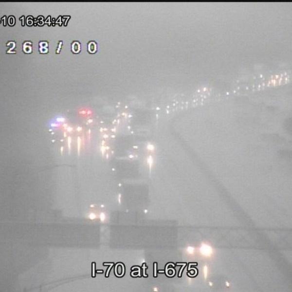 I-70 at I-675 crash 3-10_147375