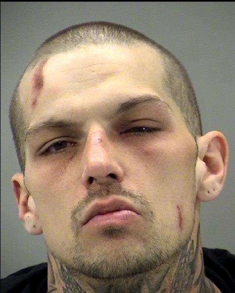 Mug shot of Brian Miser (Montgomery County Jail Photo)
