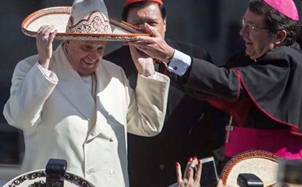 Norberto Rivera, Pope Francis, Christophe Pierre_153844