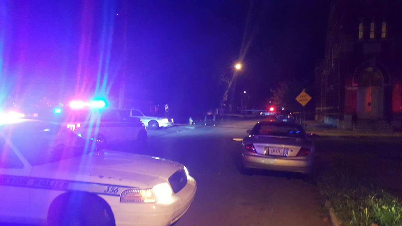 Dayton Police were called after two men were stabbed. (WDTN Photo/Darren King)
