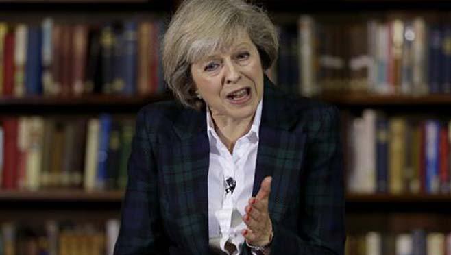 Britain's Home Secretary Theresa May_171841