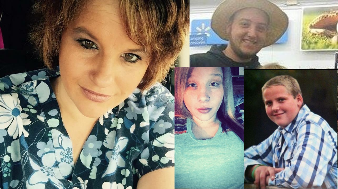 Pike County victims - Rhoden family