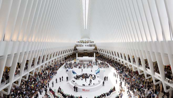 World Trade Center Mall Reopens Shows Progress Since 9 11