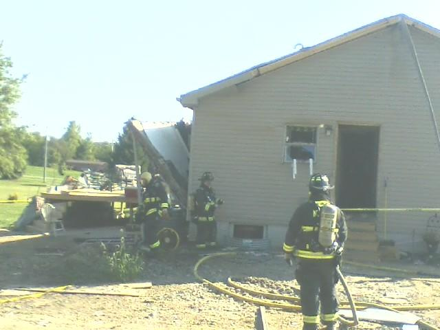 North Lewisburg home explosion_189208