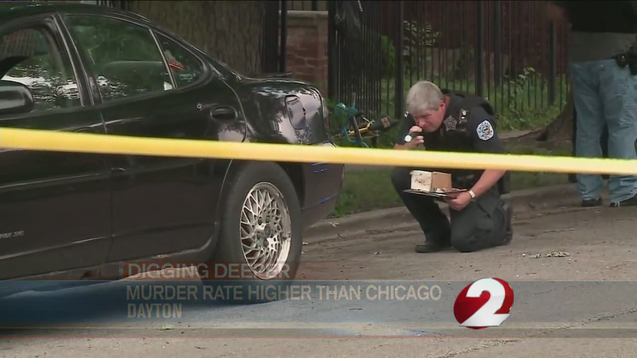 Murder rate higher than Chicago