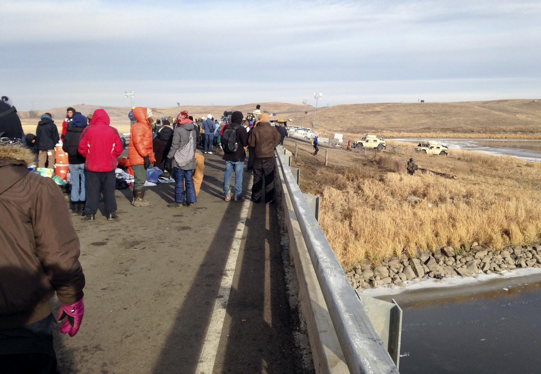 Oil Pipeline Protest_206912
