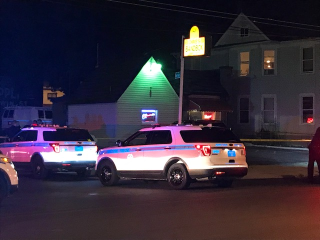 Dayton Police called to a reported shooting outside of Chris's Bandbox. (WDTN Photo)