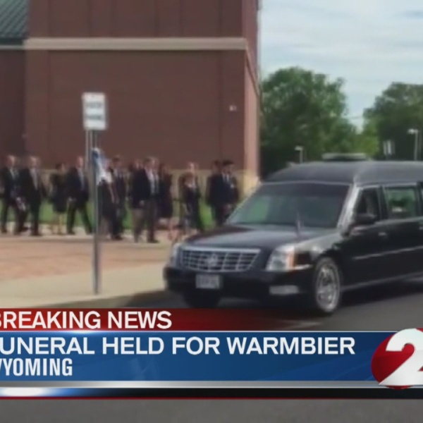 Warmbier mourned at funeral