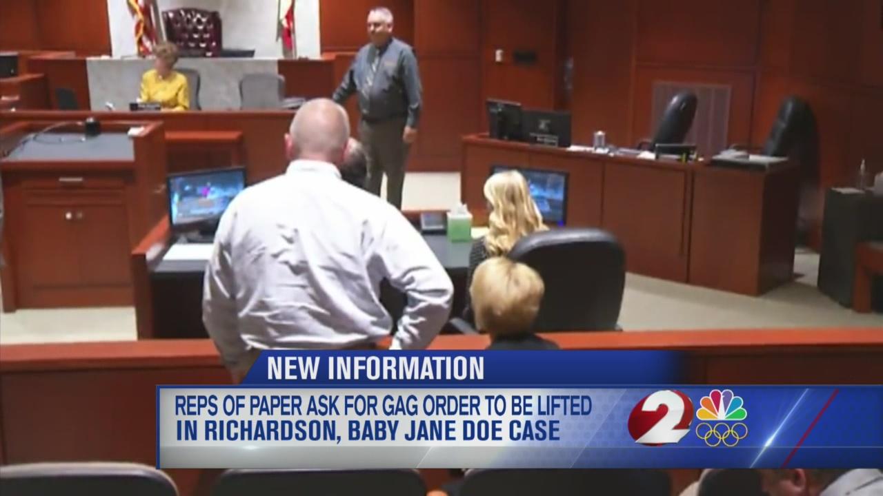 Lawyers argue against gag order in Richardson case