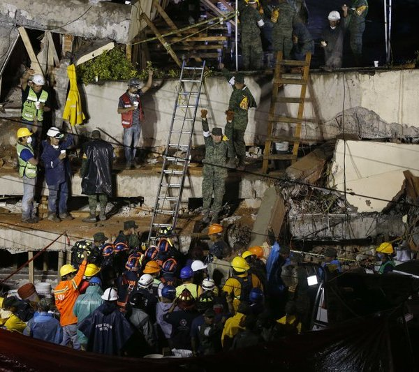Mexico Earthquake Rescues_269692