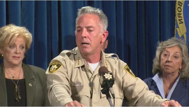 Officials give an update about the Tragedy in Las Vegas_272085