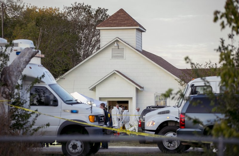 Church shooting in Texas_278548