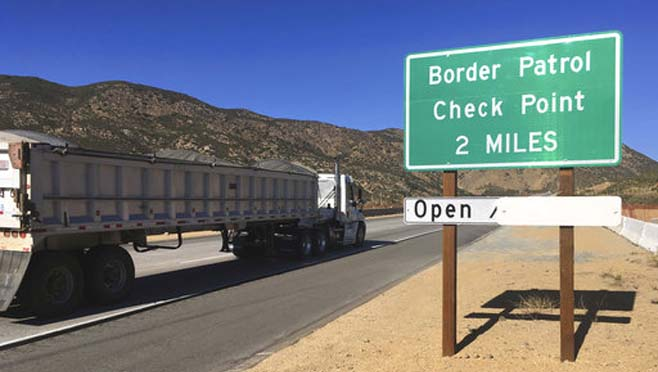 California Marijuana Border Busts_287386