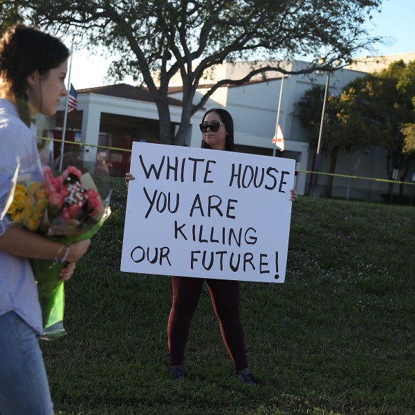 Florida Town Of Parkland In Mourning, After Shooting At Marjory Stoneman Douglas High School Kills 17_298315