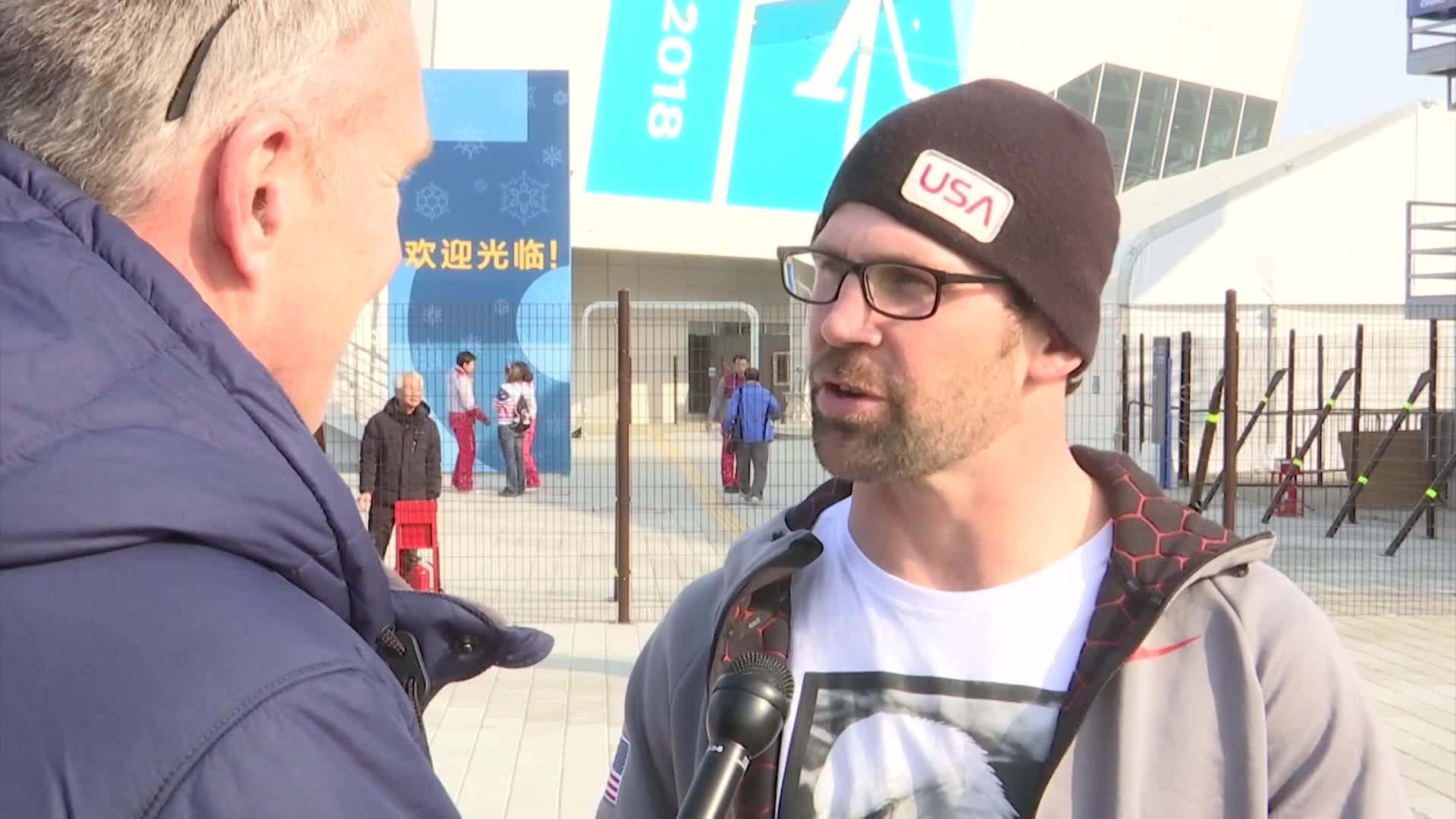 Team USA_s Nick Baumgartner may have just missed the podium in snowboard cross, but he says sharing the experience with his son changed everyth_298760