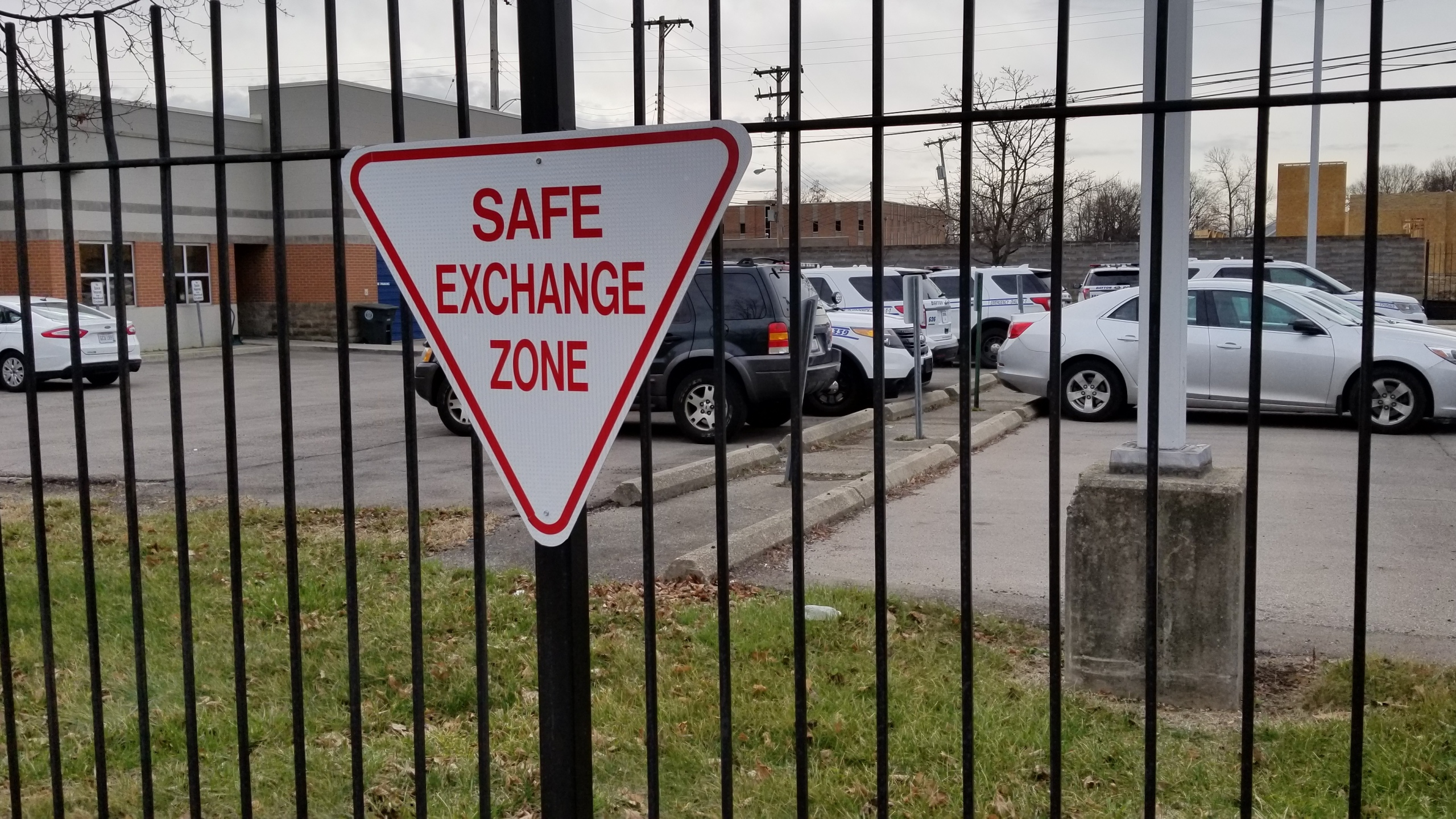 Police urge the public to use safe exchange zones