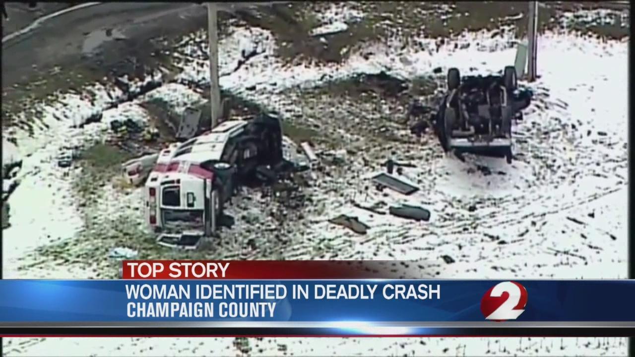 Woman killed in Champaign County crash