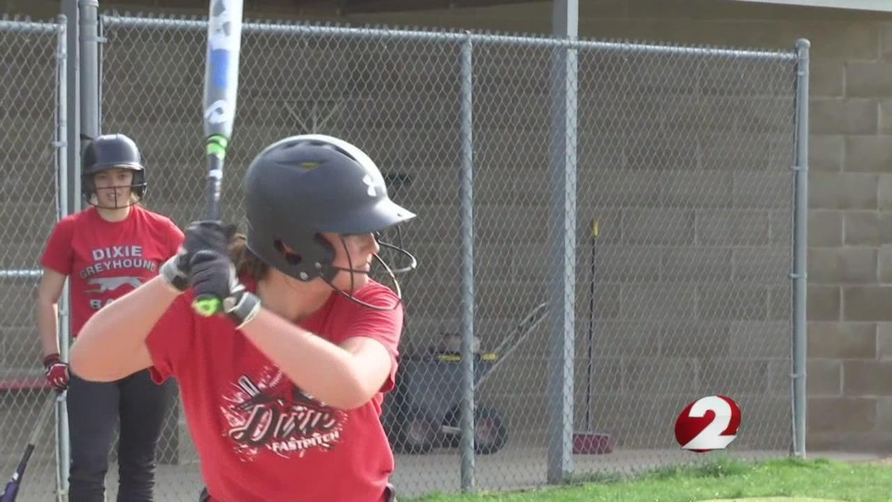 Softball sensation McKinlee Ruppert is the heart of Dixie