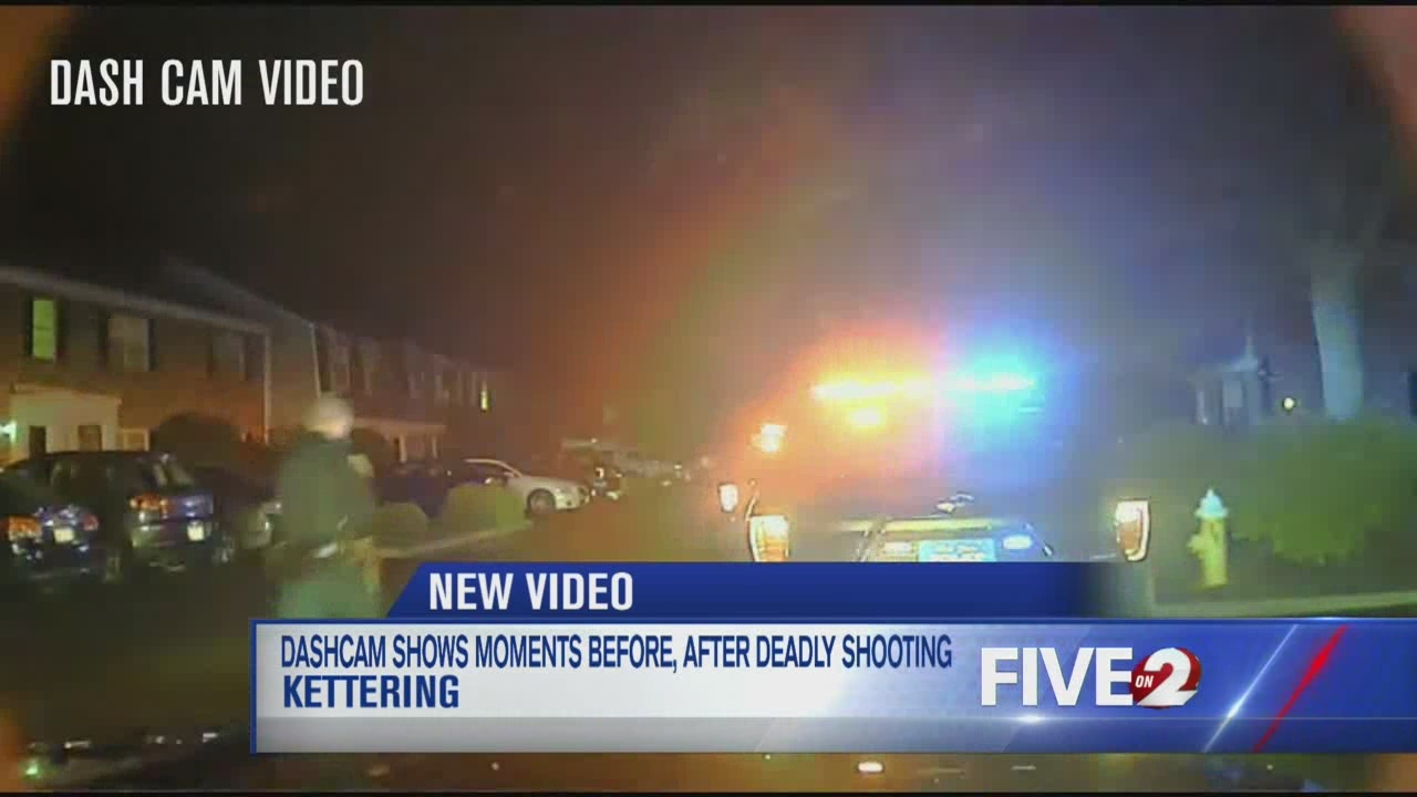 Kettering Police release dash cam video from officer-involved shooting