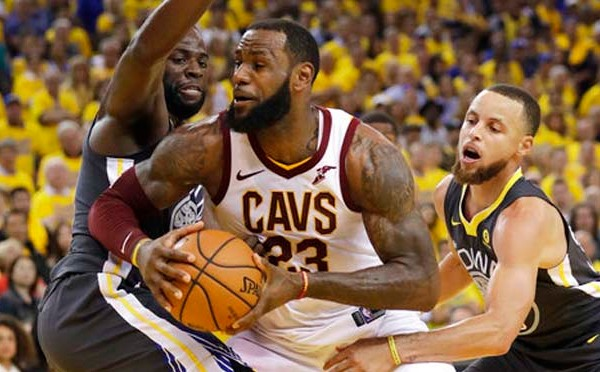 NBA Finals Cavaliers Warriors Basketball_1528301231287