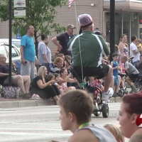 Parade marches through Vandalia