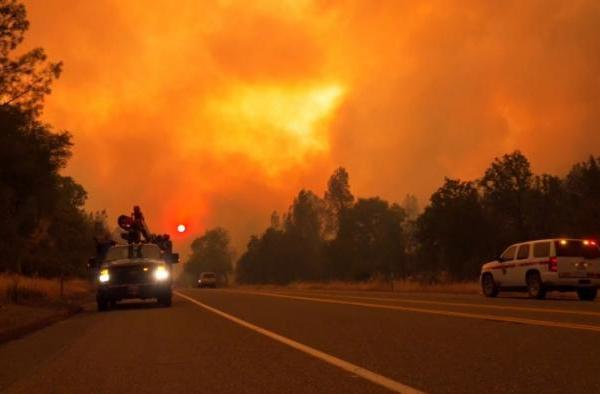 Eight Dead In California Wildfires