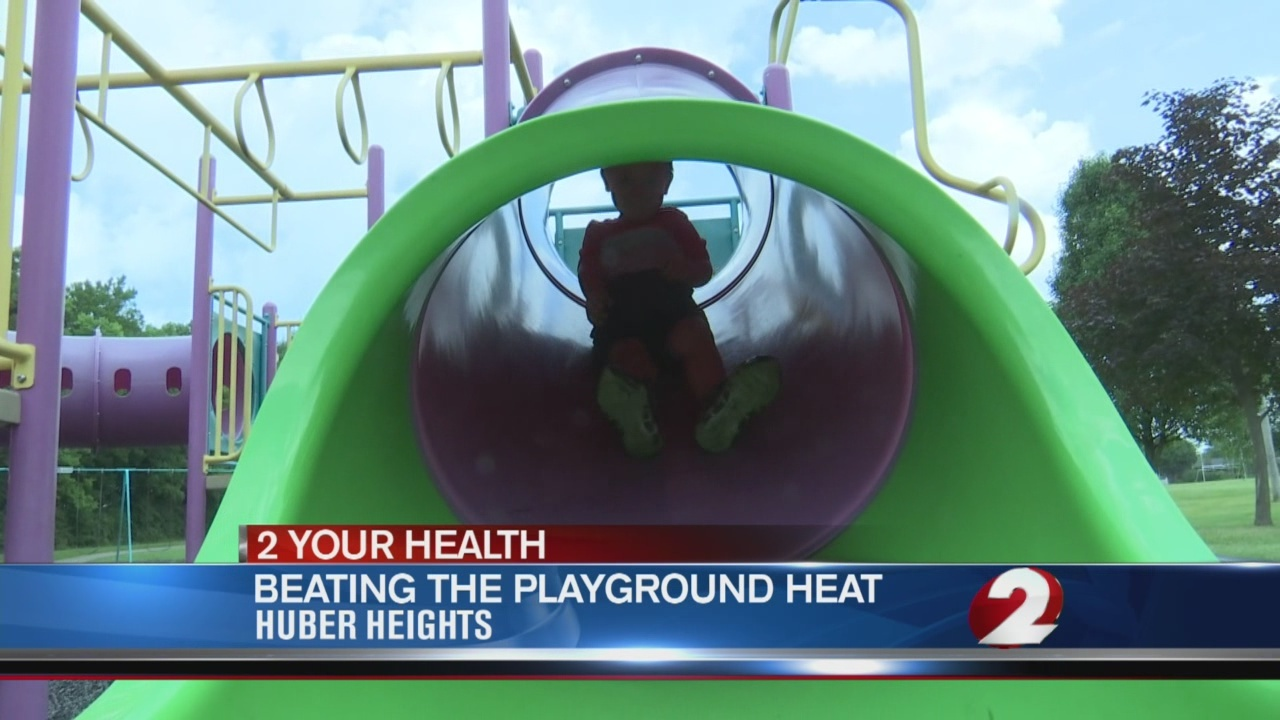 Extreme heat can mean hidden dangers on the playground