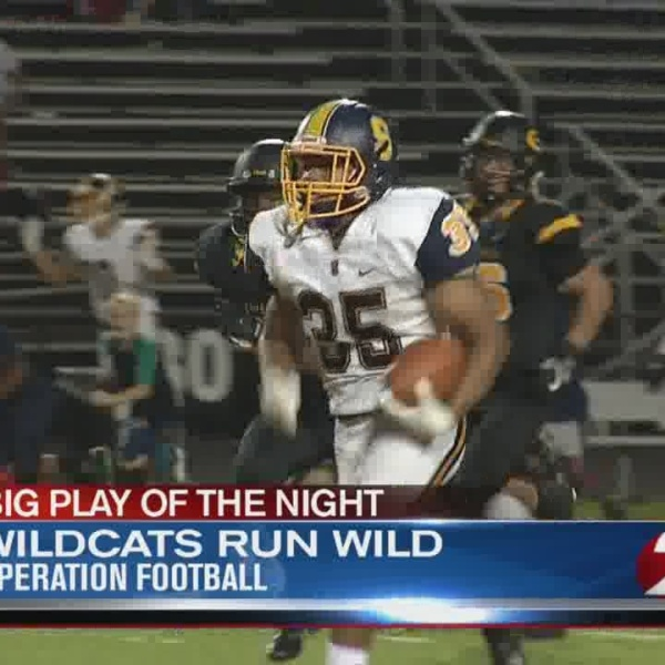 Big Play of the Night: Springfield Wildcats