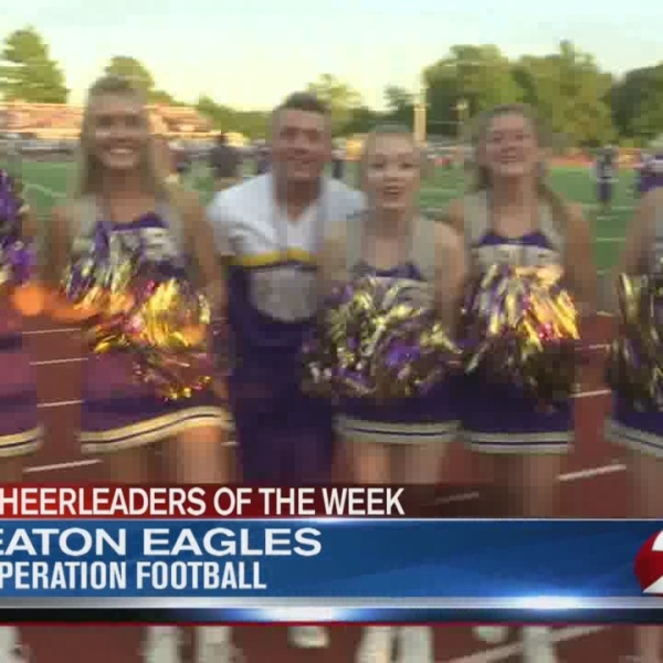 Cheerleaders of the Week 4: Eaton