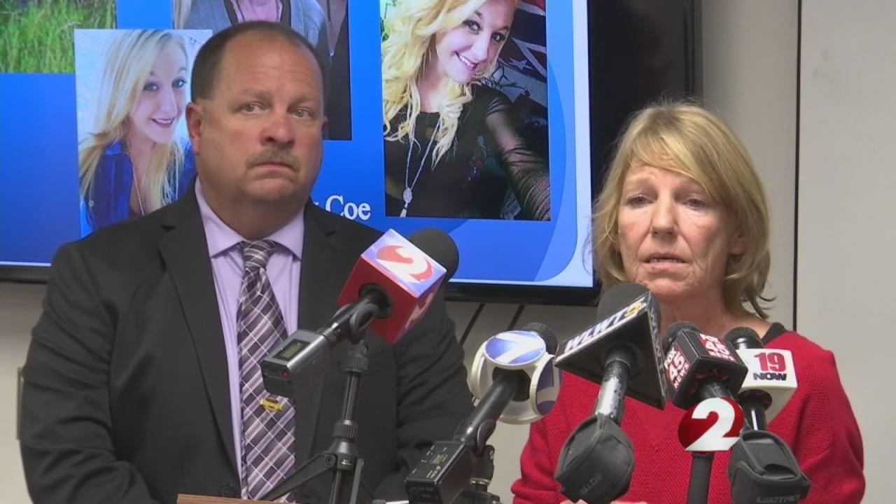 Family, detectives make public plea for information regarding Chelsey Coe