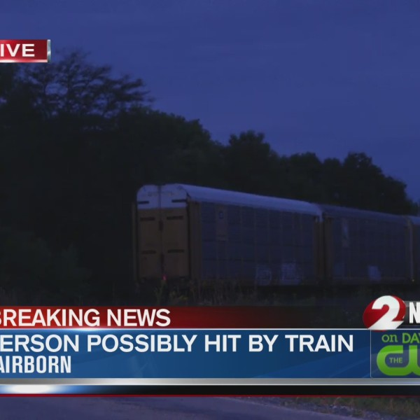 Greene County Person Hit by Train - 9/27