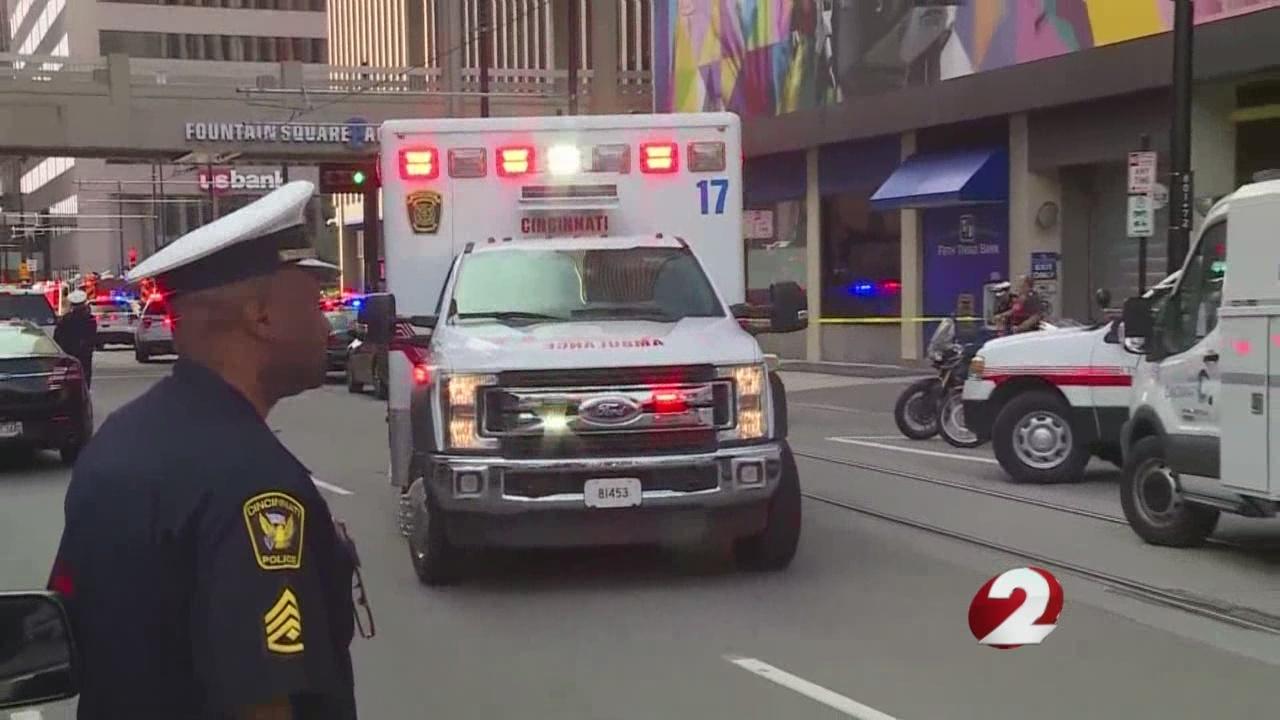 He kept shooting ' Eyewitnesses recount Cincinnati shooting