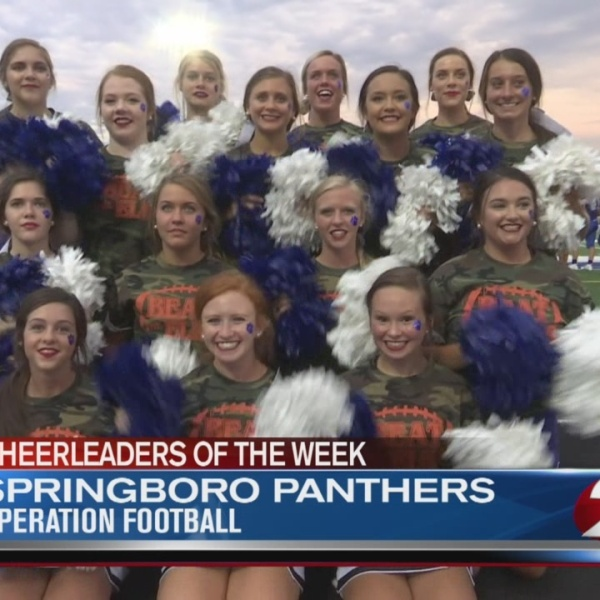 Operation Football Cheerleaders of the Week 5: Springboro Panthers