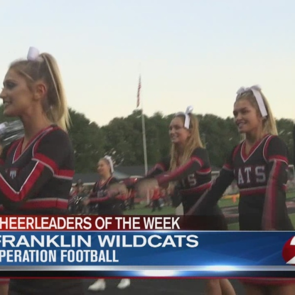 Operation Football Cheerleaders of the Week 6: Franklin Wildcats