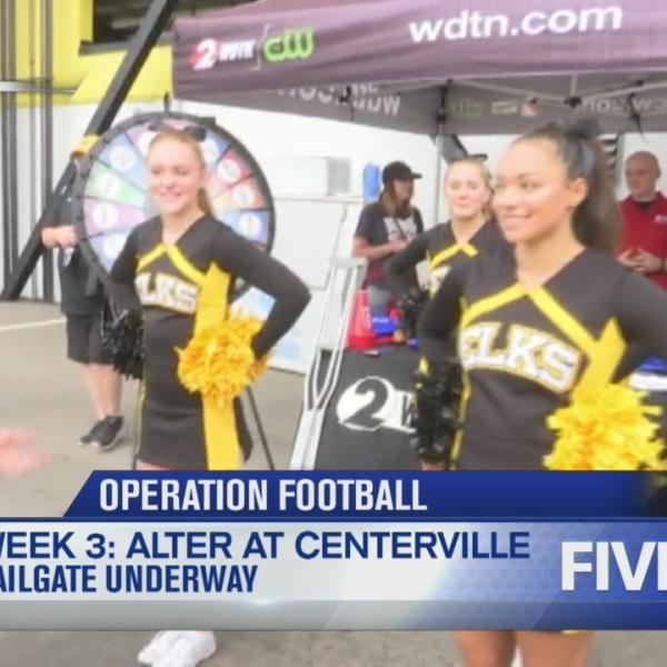Operation Football Tailgate of the Week 3: Alter at Centerville