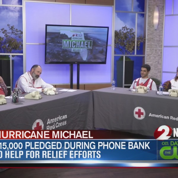 $15,000 pledged during phone bank