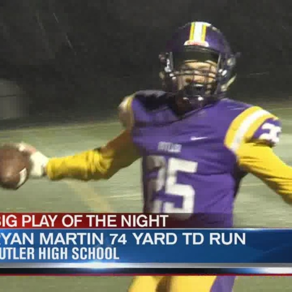 Operation Football Big Play of the Night Week 8: Piqua at Butler