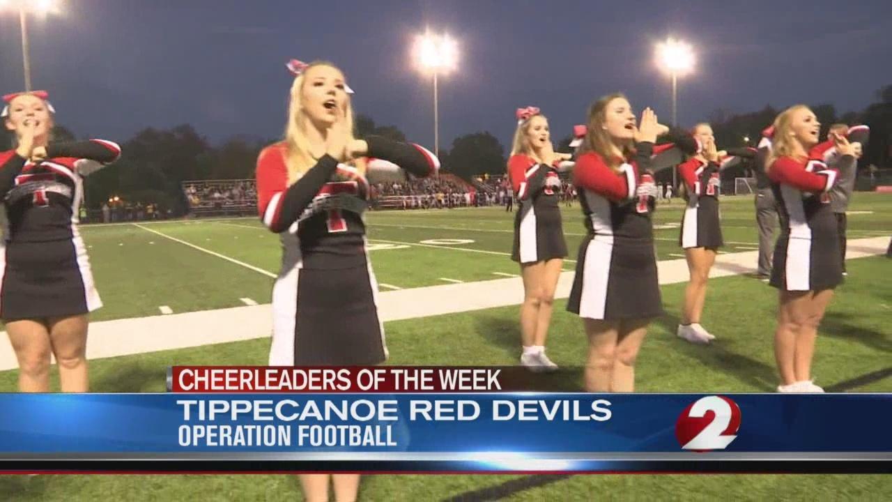 Operation Football Cheerleaders of the Week 7: Tippecanoe Red Devils