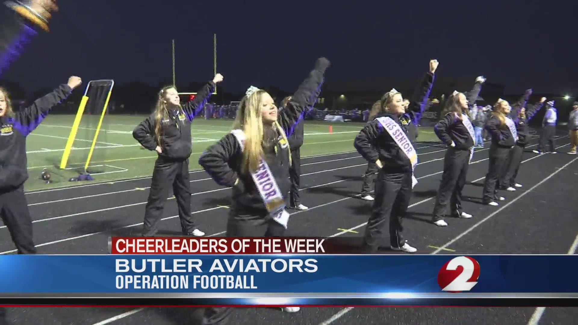 Operation Football Cheerleaders of the Week 8: Butler Aviators