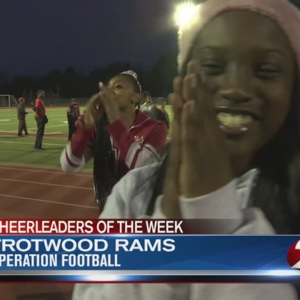 Operation Football Cheerleaders of the Week 9: Trotwood Rams