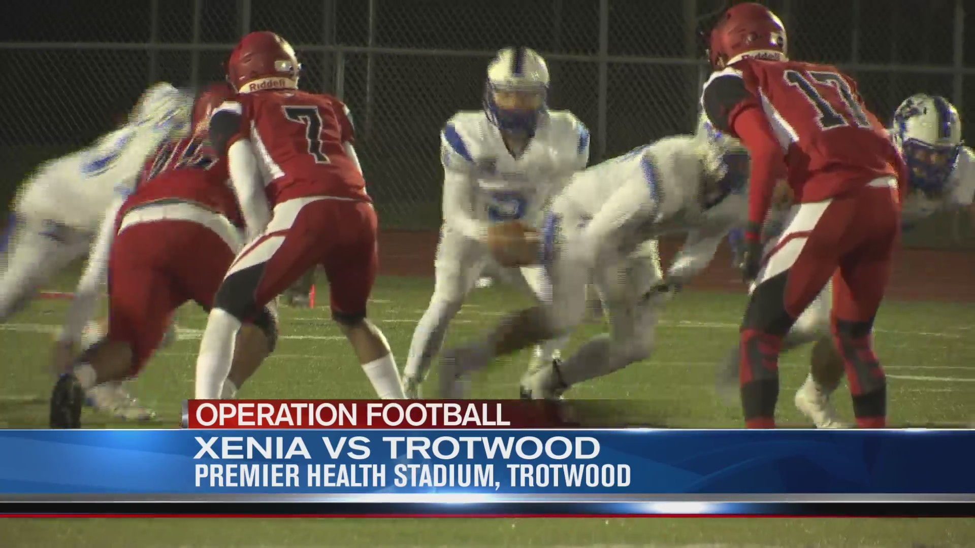 Operation Football Week 9: Xenia at Trotwood