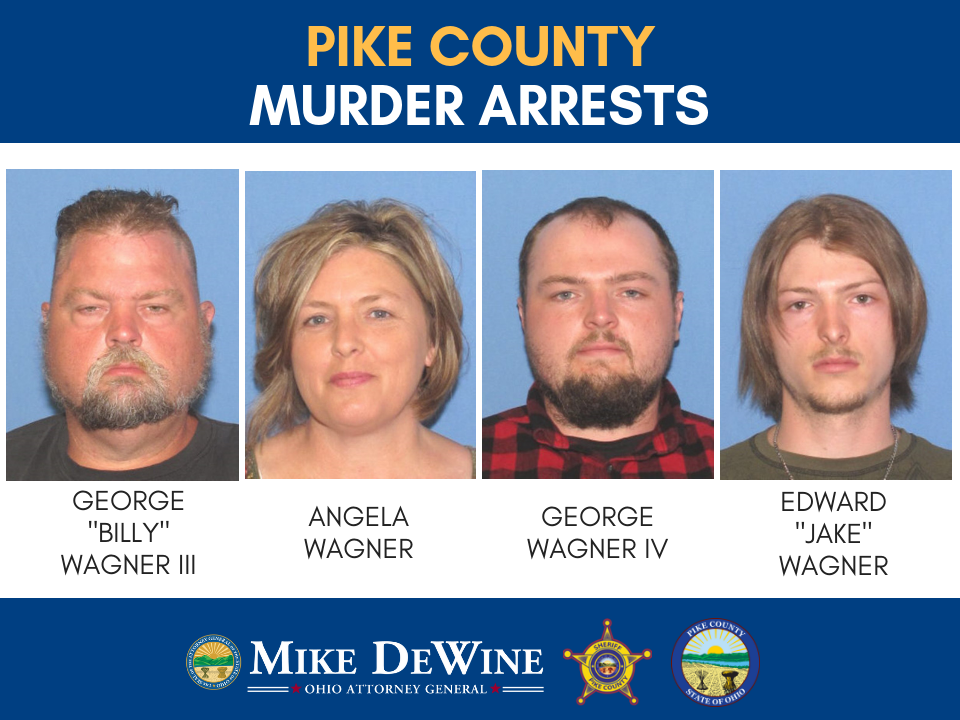 4 arrested, charged in Pike Co  murder case
