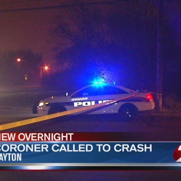 Coroner called to Dayton crash