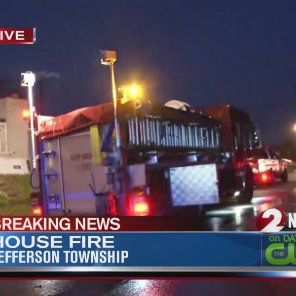 Jefferson Twp. house catches fire
