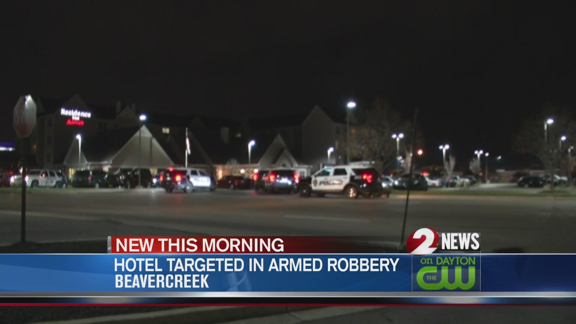 Man robs Beavercreek hotel at gunpoint